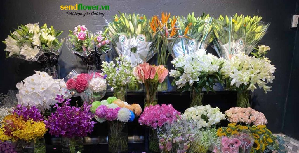 hoa được Trung tại shop hoa tươi Quận 4 đảm bảo đọ tươi mới đa dạng chủng loại